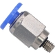 PC 04-M4   4mm Tubing M4 x 0.7 Male Straight Push in Fitting