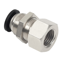 Push to Connect Fittings - PMF Bulkhead Female Straight