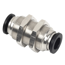 Push to Connect Fittings - PM Bulkhead Union